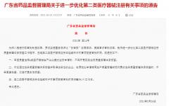 广东省优化第二类医疗器